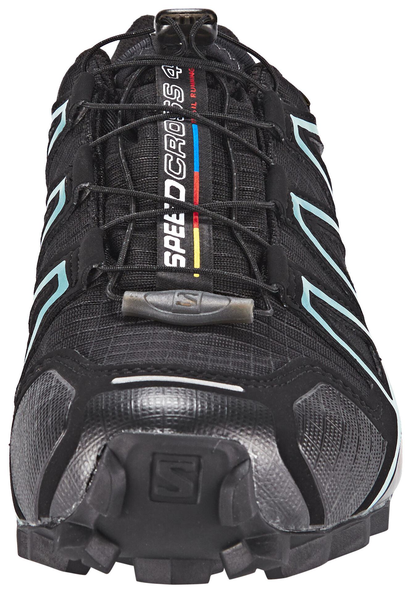 Salomon Speedcross 4 GTX Chaussures Femme, blackblackmetallic bubble blue